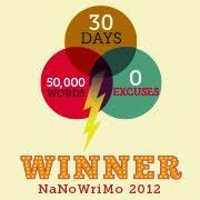 NaNoWriMo NOVEMBRE 2012