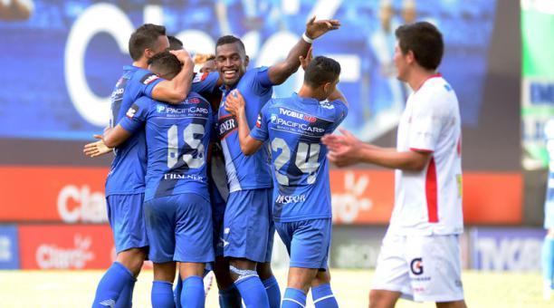 Emelec venció a Liga de Loja en Guayaquil