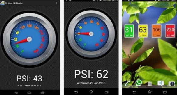 Download Aplikasi Singapore PSI Haze & Weather Monitor Untuk Android