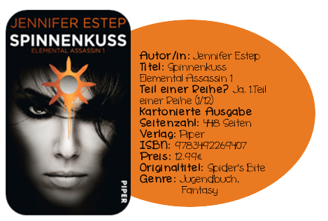 http://www.amazon.de/Spinnenkuss-Elemental-Assassin-Jennifer-Estep/dp/3492269400/ref=sr_1_sc_1?ie=UTF8&qid=1402654564&sr=8-1-spell&keywords=Spinnnekuss