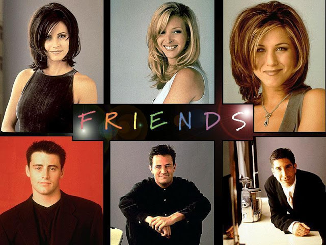 Friends Cast from TV Series