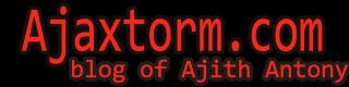 Ajaxtorm's Blog