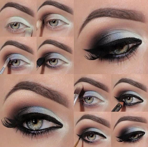 Smokey Eyes Makeup Tutorial For Beginners Makeup For Beginners