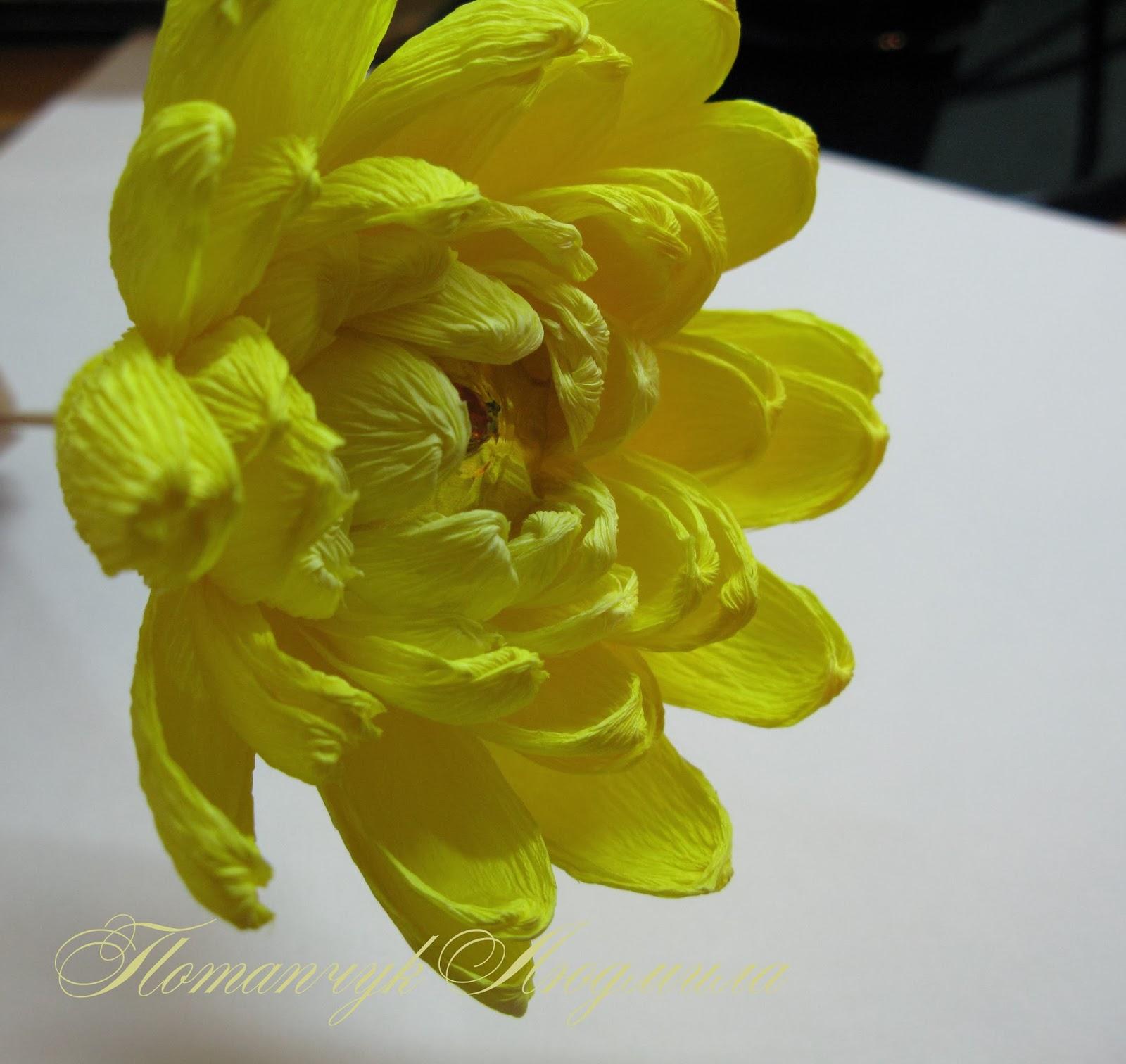 Цветы из гофрированной бумаги своими руками - Мир Позитива 64