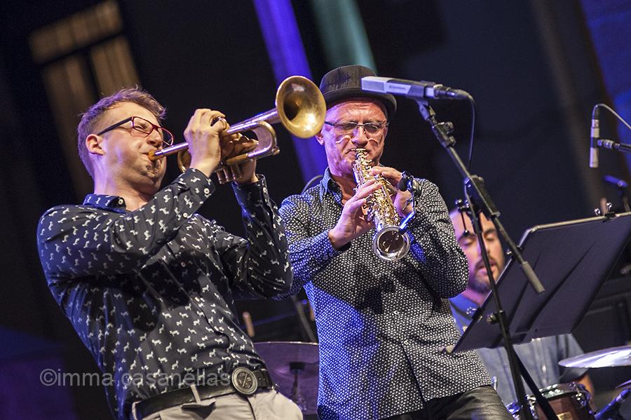 Maciej Fortuna i Andrzej Olejniczak, Plaza de la Trinidad, Donostia, 24-7-2015