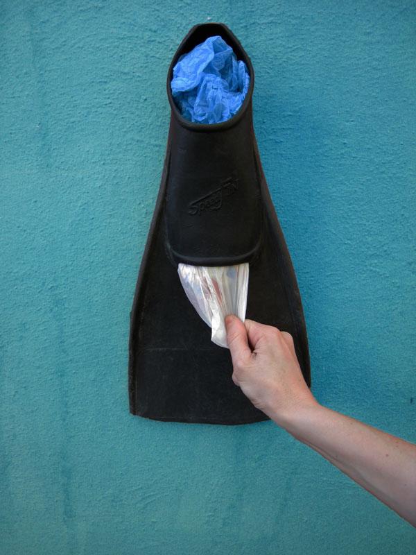 Readapta 2 0 aleta como dispensador de bolsas - Dispensador bolsas plastico ...