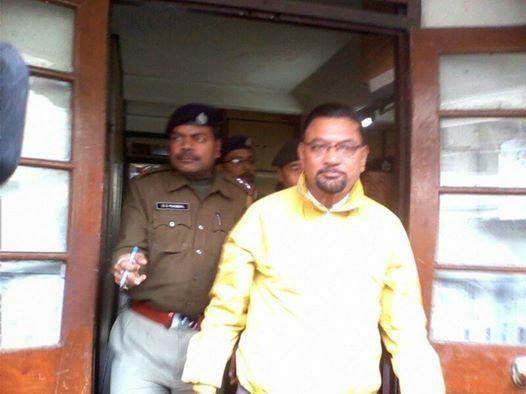 Gorkhaland Territorial Administration (GTA) Sabha member Kaziman Lohagun, arrested