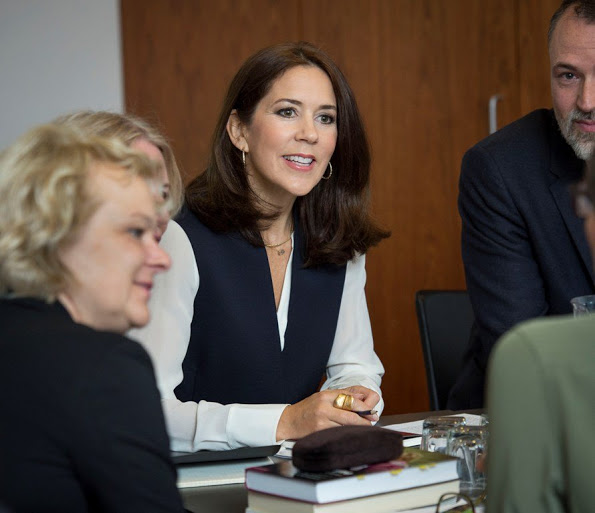 Princess Mary Attended The 'Free Of Bullying' Seminar