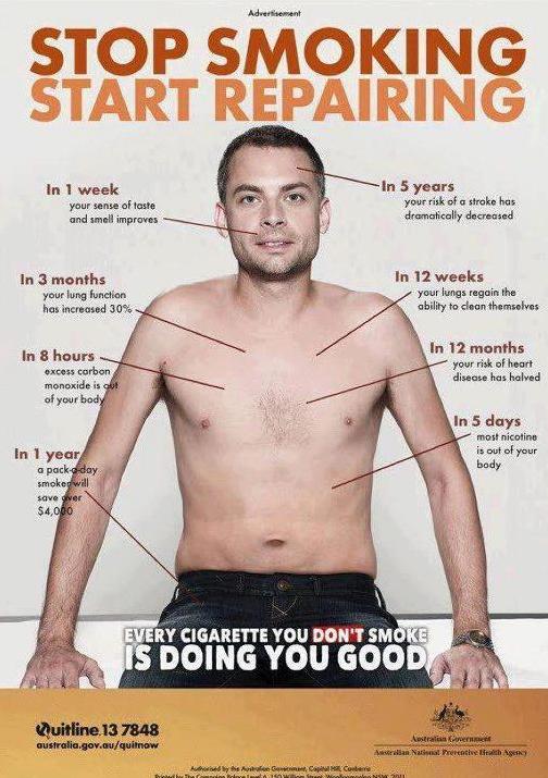 Stop Smoking Start  Repairing