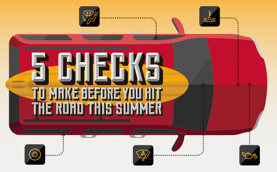 5 Car Maintenance Tips for your Summer Trip