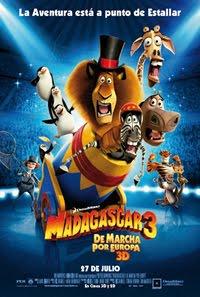 Madagascar 3: De marcha por Europa (2012) Online