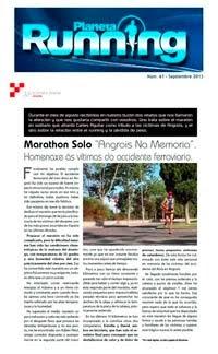 "Planeta Running" se hace eco del "Marathon Solo Angrois na Memoria"
