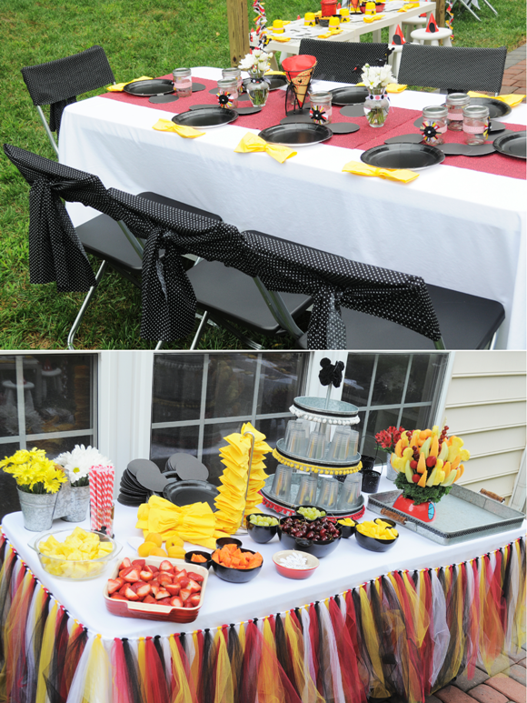 Perfect Red Yellow Black Mickey Mouse Party Ideas 580 x 773 · 1190 kB · png
