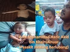 TABUNG ADIK MUHAMMAD HAZIZ