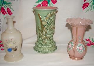 Bliss Vase Redwing Vase Fenton Charleton Pink Vase