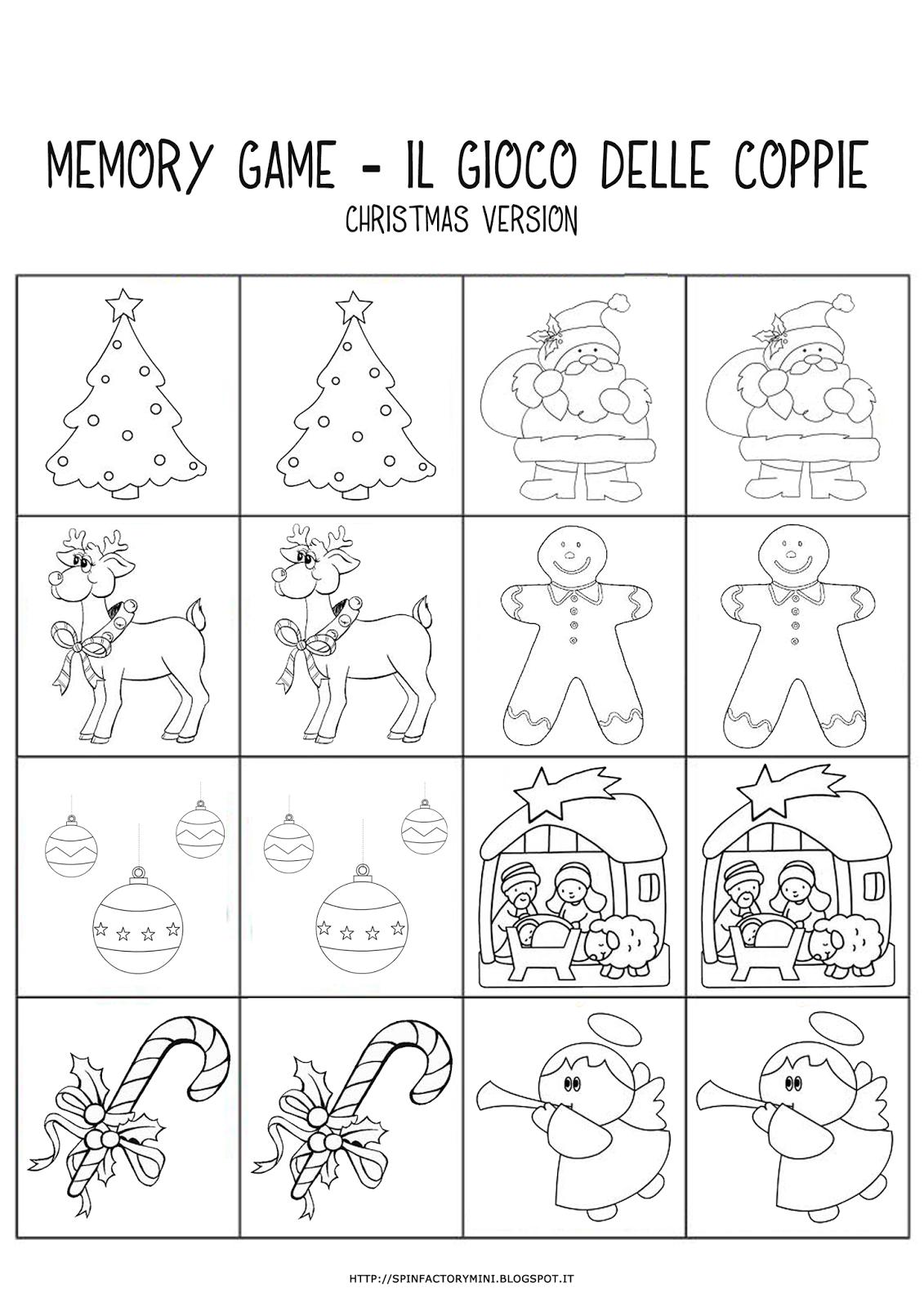 Unico disegni da colorare e stampare della famiglia di for Memory da stampare