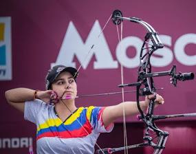 Pereirana Sara López retuvo  título de la Copa Mundo de Tiro con Arco, modalidad compuesto, en Mosc