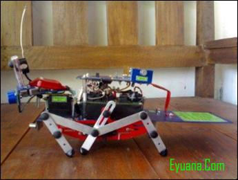foto robot pendeteksi gas