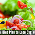 Pakistani Diet Plan to Lose 5kg Weight in a Week