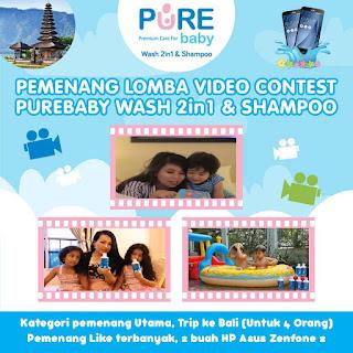"Info Pemenang - Pengumuman Pemenang ""Video Contest Purebaby Wash 2 in 1 & Shampoo"""
