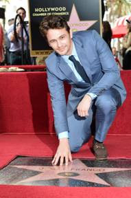 James Franco gets a star on the Hollywood Walk of Fame