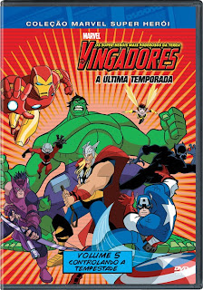 - Os Vingadores Vol 5 Controlando A Tempestade DVDRip AVI + RMVB Dublado