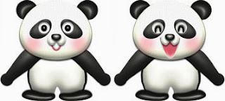 パンダのイラスト・サンプル