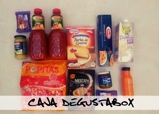 contenido caja degustabox octubre