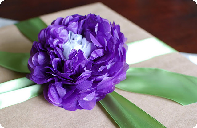 12 Gorgeous Tissue Paper Flower Tutorials Lines Across