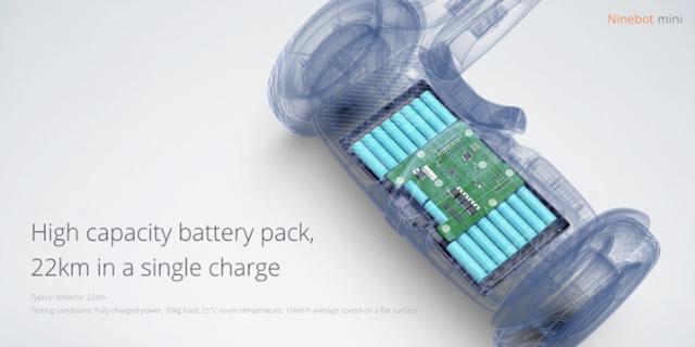 Bateria do Ninebot mini