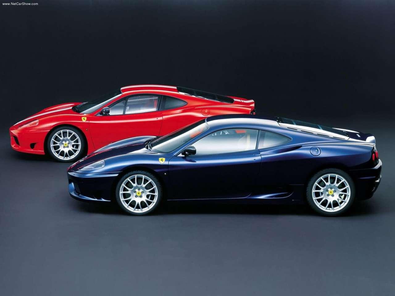 ... Populaire francais d'automobiles: 2003 Ferrari 360 Challenge Stradale