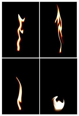 efek api