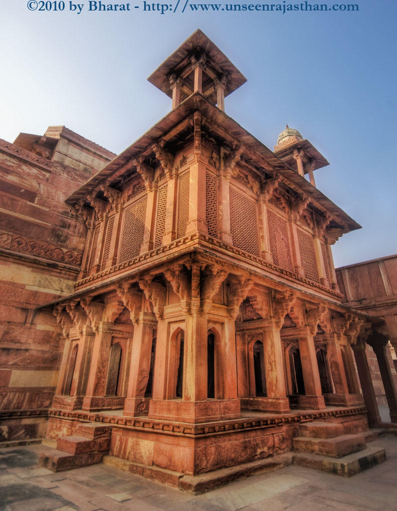 Akbar The Great Palace The fort and palace of Agra