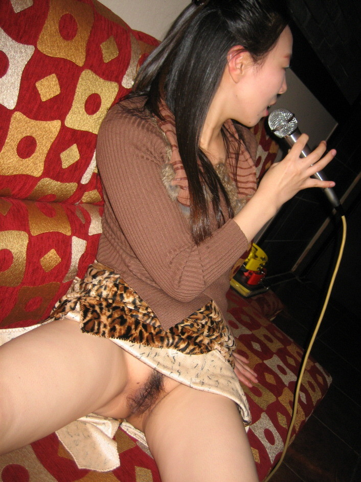 Korean girl karaoke box