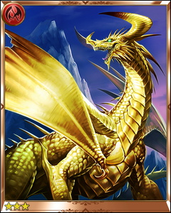 Rage of Bahamut Gold Dragon