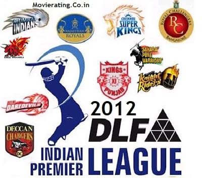 ipl live streaming : watch live streaming dlf ipl 2012