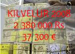 Tableau de bord Kilvelur 2008