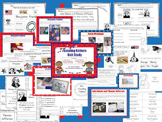 https://www.teacherspayteachers.com/Product/Founding-Fathers-Unit-952079
