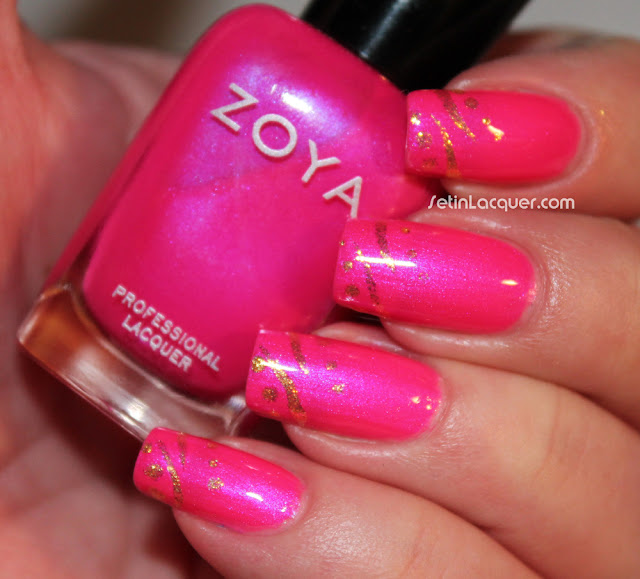 Zoya Lola with accents of Zoya Kerry