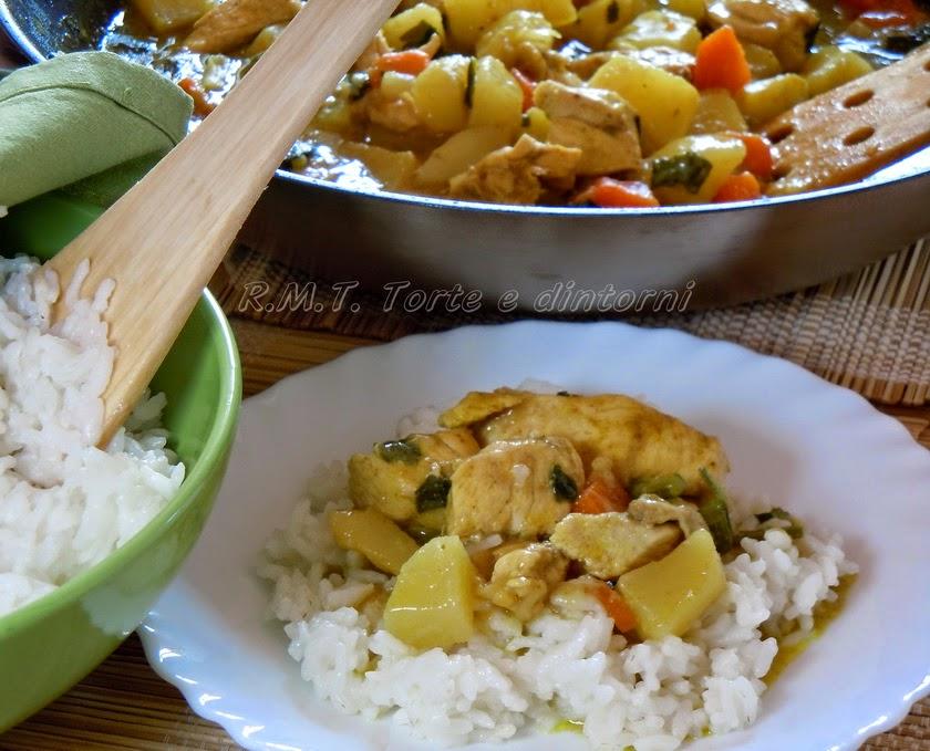 Kale Moa - pollo al curry