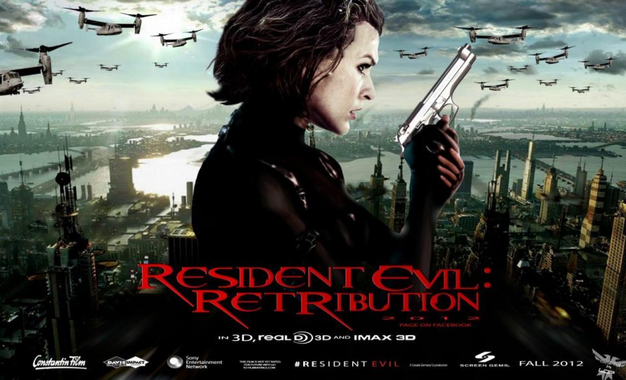"Big Game Hunter : Sneak Peek ""Resident Evil: Retribution"""