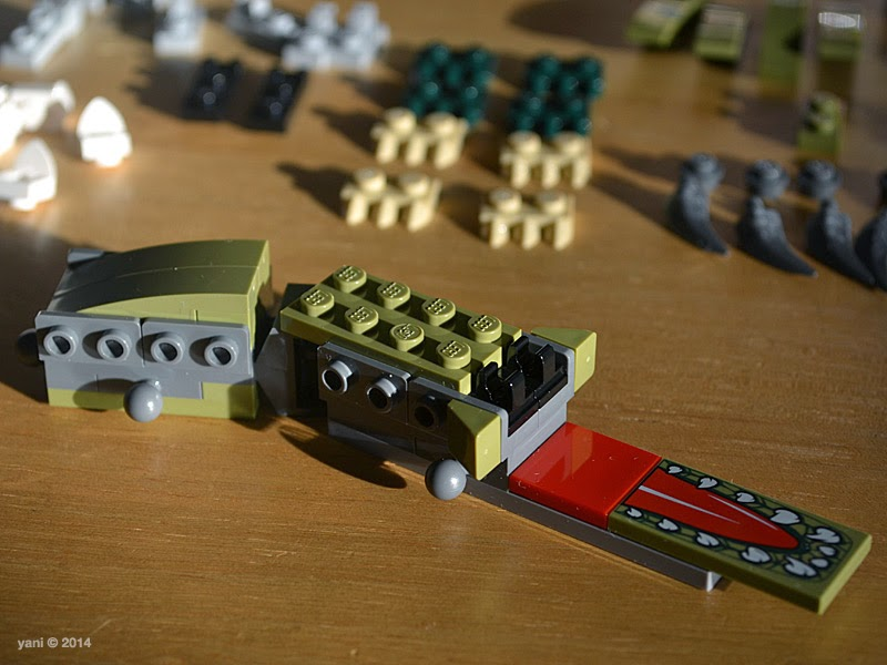 lego chima legend beast crocodile - all aboard the croc train