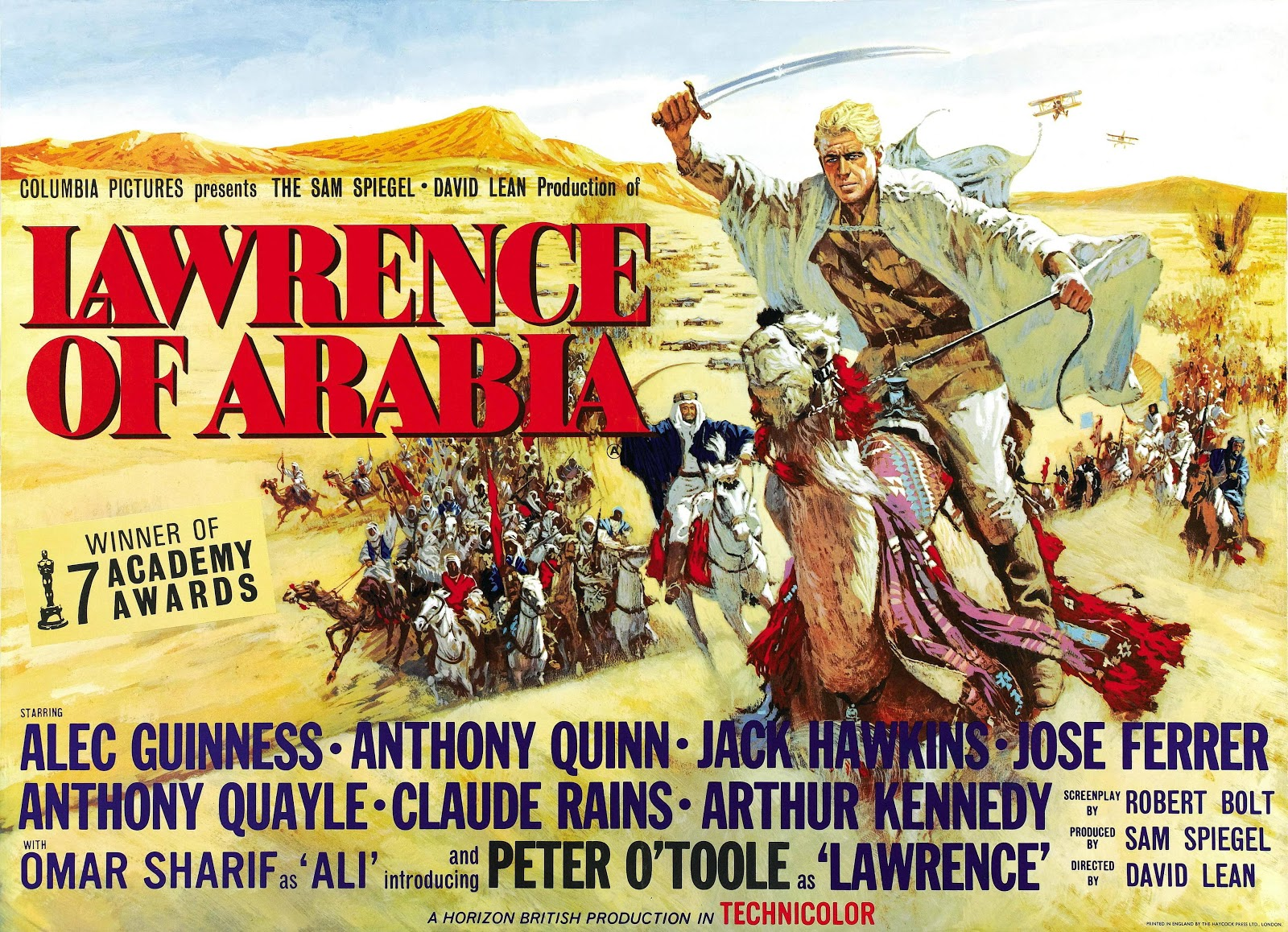 compare lawrence of arabia film with Find helpful customer reviews and review ratings for lawrence of arabia (restored version)  a disc 1, bluray film: lawrence of arabia - 227 minutes (378 hours).