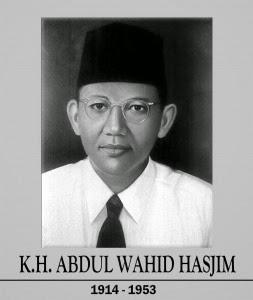 KH. Wahid Hasyim: Dari Pesantren Untuk Negeri