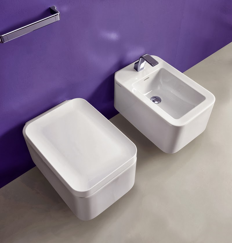 Lavabi d 39 appoggio vasi e bidet sospesi nile idea arredo - Ikea bagno sanitari ...