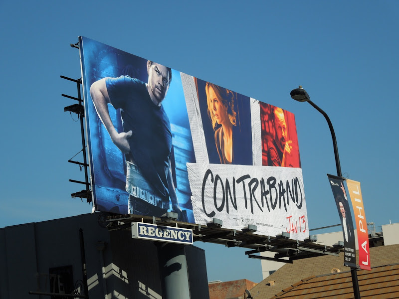 Contraband film billboard