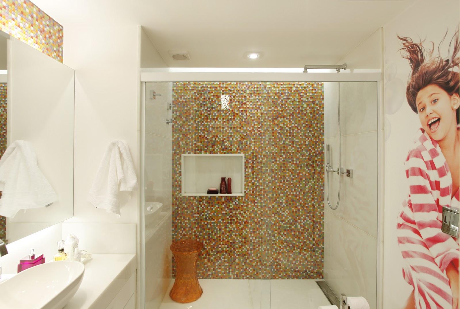 Marcela Sertã e Juliana Giusti Design de Interiores: BANHEIRO MENINA #9B3050 1600 1075
