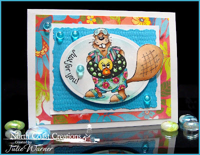 Stamps North Coast Creations Pool Time Buford - Designer Julie Warner
