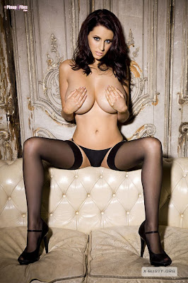 Busty British Sexy Model Sammy Braddy Goes Topless Photoshoot For Playboy