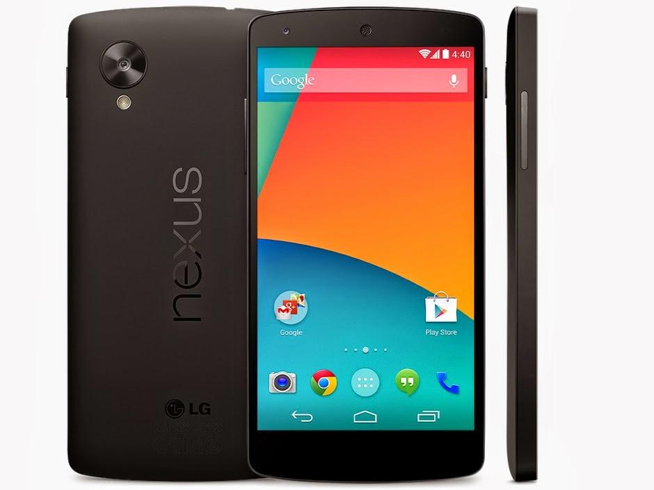Harga Dan Spesifikasi LG Nexus 5 New Edition, Terbaru System Operasi Android v4.4 KITKAT